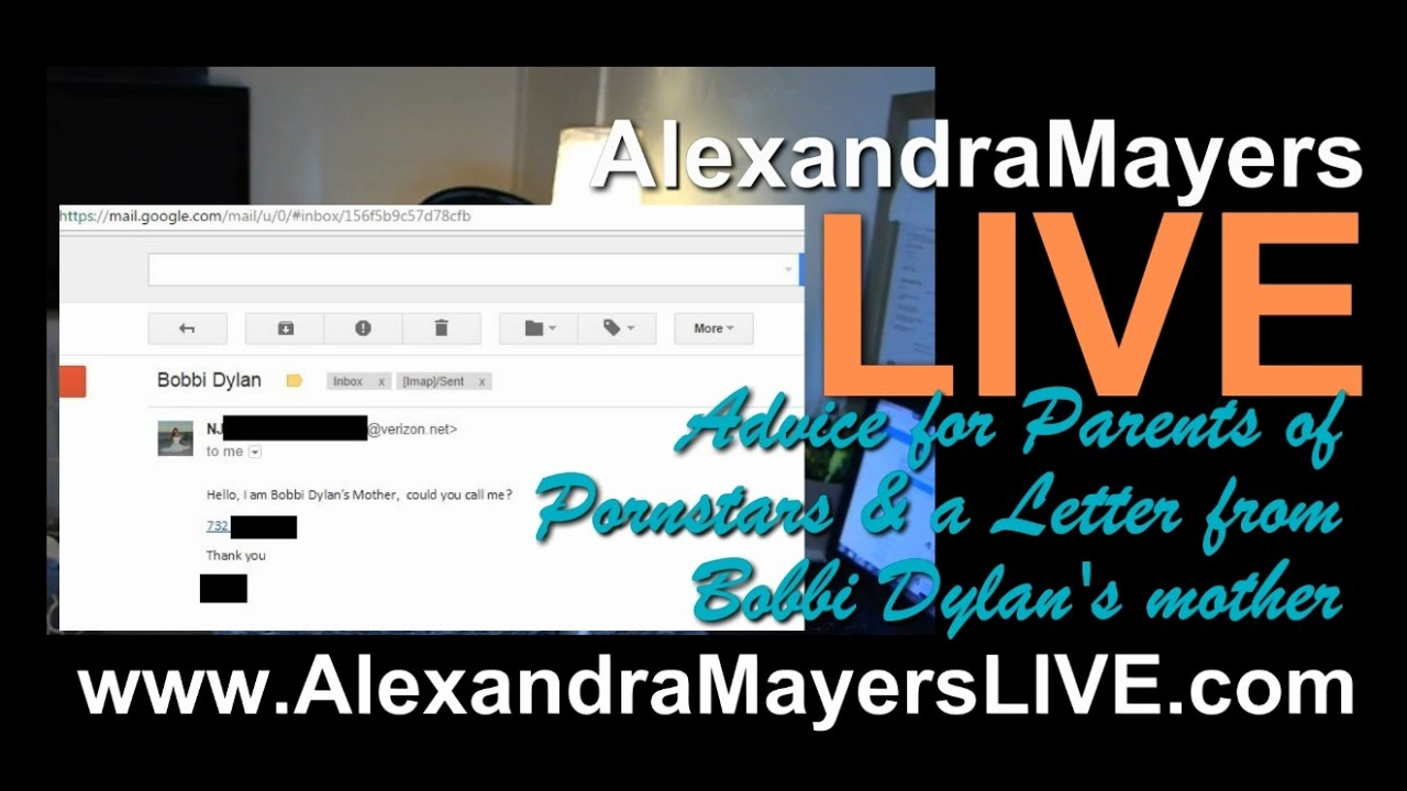 Alexandra-Mayers-LIVE-Advice-for-Parents-of-Pornstars-a-Letter-from-Bobbi-Dylans-mother